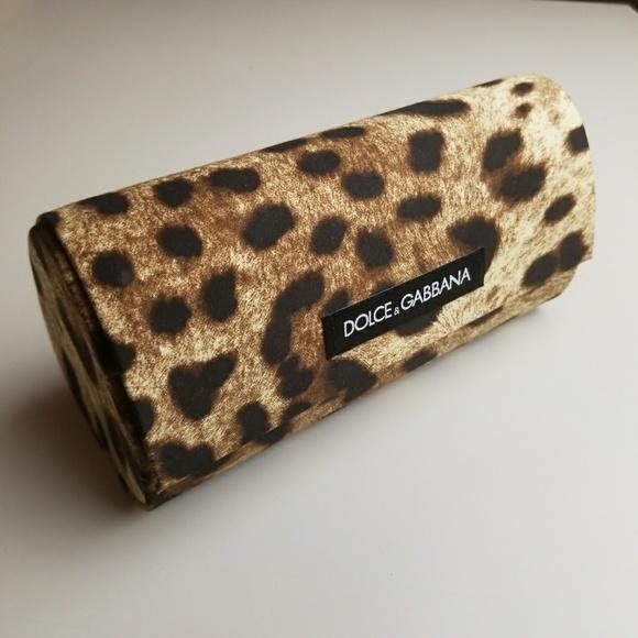 4c899e4f9bc Dolce   Gabbana Accessories - Dolce   Gabbana Sunglass Case Leopard